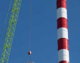 Steelchimney, Asgaard II project - SSM
