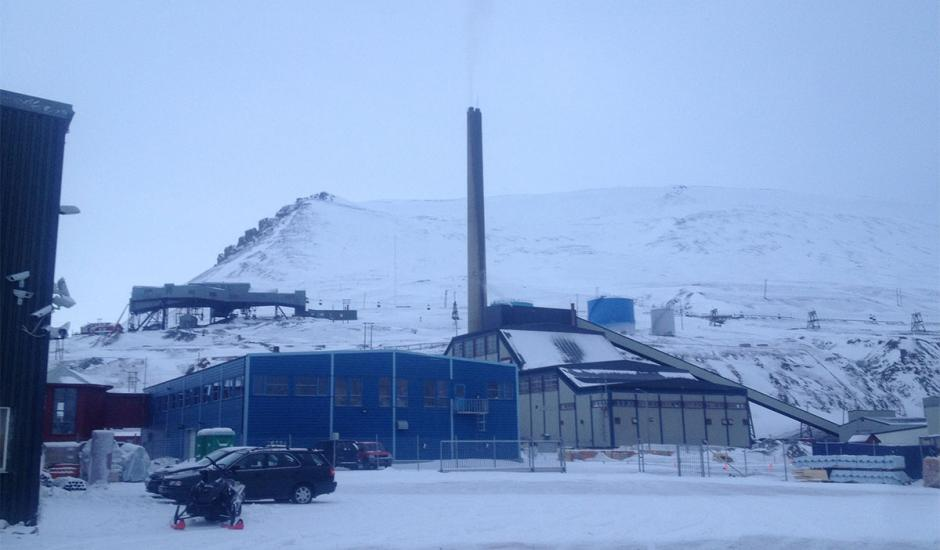 90M stack with new GRP fuse for Longyearbyen in Norway
